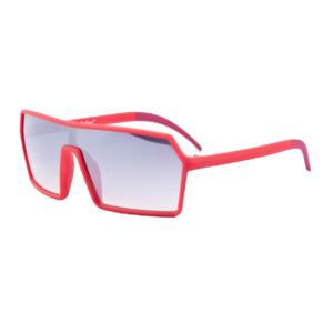 Festival bril Techno Baas rood Brillenbaas