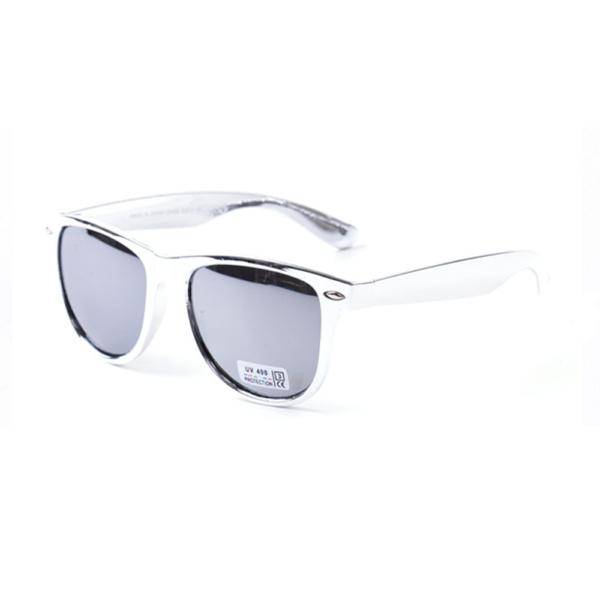 Zilveren Wayfarer Brillenbaas