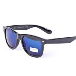 Zwart blauwe wayfarer Brillenbaas