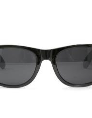 Zwarte Wayfarer voor Brillenbaas