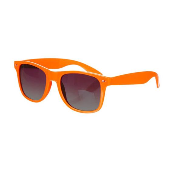 Oranje Wayfarer Brillenbaas
