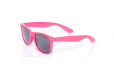 Roze wayfarer Brillenbaas