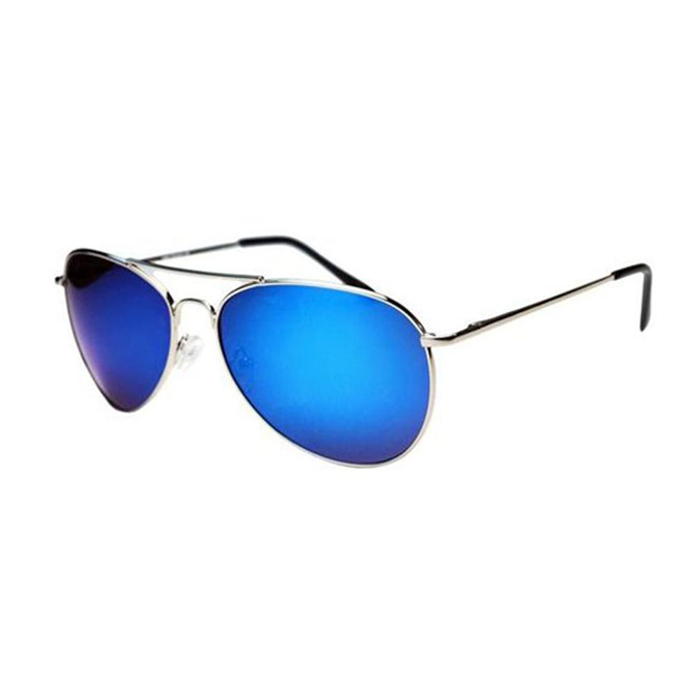Pilotenbril Zilver Blauw Goose Brillenbaas
