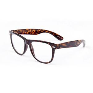 Nerdbril Leopard Wayfarer Brillenbaas