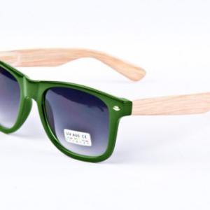 Bamboe Wayfarer Groen Brillenbaas