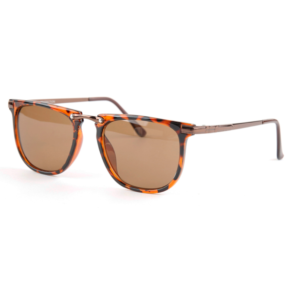 "Thin wayfarer zonnebril luipaard print ""Thin Leo"""