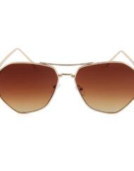 "2017 Pilotenbril met bruine glazen ""Saint-Tropez""_v"