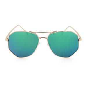 """2017 Pilotenbril met blauw-groene spiegelglazen """"Extravaganza1.0""""_v"""