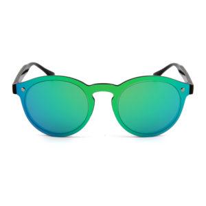 """Blauw-groene spiegelglas zonnebril """"Vert de Mer""""_v"""