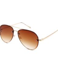 """Pilotenbril bruin goud """"Brown MoFo"""""""