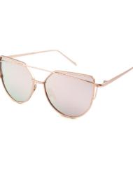 Pilotenbril met roze polarized spiegelglazen Primadonna Rosa Brillenbaas